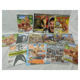 Lot of 13 Unopened Sealed Wrestling Magazines