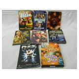 Lot of 8 DVD Sets WWE Wrestling Rock Stone Cold