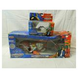 """2 OCC Diecast Choppers 19"""" and 7"""""""