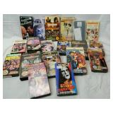 Lot of 20 WWF Wrestling VHS Cassettes