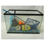 16x9x10 Glass Aquarium with Extras