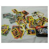 Lot of WCW, NWO WWE Wrestling Cards