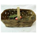 Vintage Basket full of Brass items and More