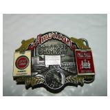 1988 Lmtd. Edition 1081of 3000 Tobacco Belt Buckle