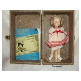 """Shirley Temple Doll & Case 14"""""""