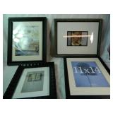Lot of 4 Picture Frames