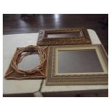 Lot of 4 Decorative Mirrors