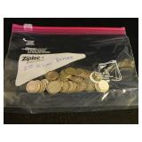 Lot of 50 Misc Silver Dimes