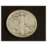 1943-s Walking Liberty Half Dollar