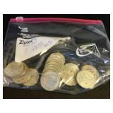 20 40% Silver Kennedy Half Dollars