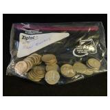 Lot of 40 Silver Quarters