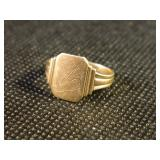 Small 14k Gold Ring