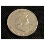 1963 Ben Franklin Half Dollar