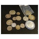 Lot of Misc US Silver Coins
