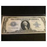 1923 Series $1 Silver Certificate Horse Blanket