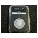 2003 Kennedy half dollar silver proof