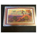 Americas classic Indian head penny