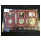Americas last silver coin set