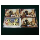 Lot of 4 $1 President Coin Proof Set 2007-2010