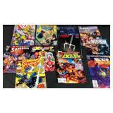 Lot of 11 miscellaneous comic books