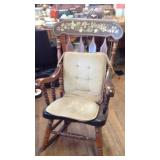 Vintage heavy rocking chair
