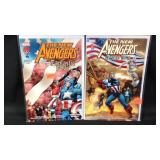 Lots of to the new avengers promo comic books