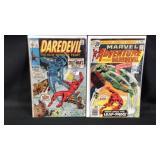Water to vintage daredevil comic books