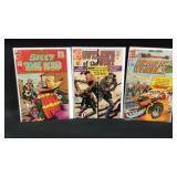 Lot of three Charlton comics