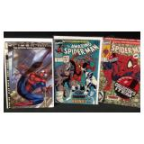 Lot of three marvel Spiderman comics