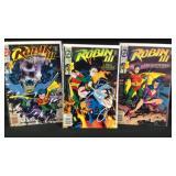 Robin III issues 1,2 and three comic books