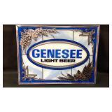 Genesee Light Beer Sign