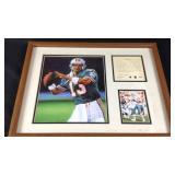 Dan Marino framed memorabilia