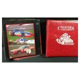 Two books full of NASCAR cards
