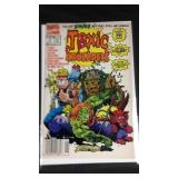 Toxic crusaders number one comic book
