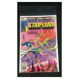 Marvel star lord number seven comic book