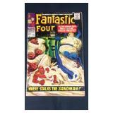 Vintage marvel fantastic four number 61 comic