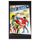 Vintage DC teen Titans comic book number 28