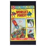 Vintage DC hundred page worlds finest comic book