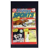 Vintage DC strain sports number 2 comic book