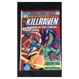 Vintage marvel kill raven number 32 comic book