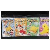 Viz comics Pokémon comic books1-4