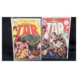 Vintage D.C. Tor #1,#2 comic books