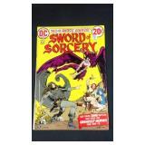 Vintage DC sward of sorcery number three comic
