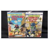 Two vintage marvel cowboy comics