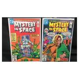 DC mystery in space comic books