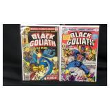 Vintage marvel black goliath #1 &4 comic books