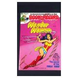 Vintage wonder woman book and record set
