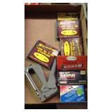 Staple gun and staples accessories