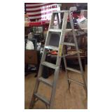 69 inch aluminum ladder