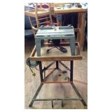 Hirish Router & Sabre saw Table with custom stand